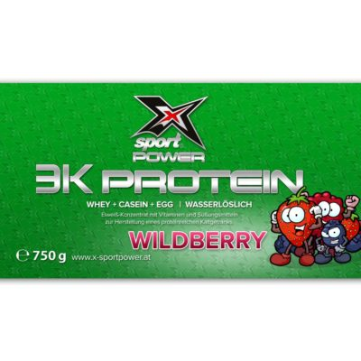X-Sport Power 3K Protein Wildberry