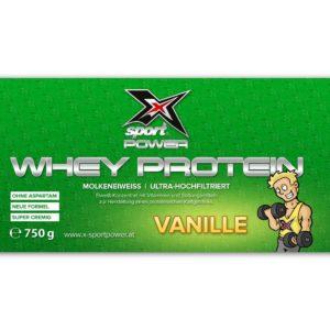 X-Sport Power Whey Protein Vanille