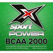 X-Sport Power BCAA 2000