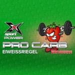 X-Sport Power Pro Carb Eiweiss Riegel Erdbeer