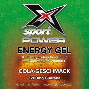 X-Sport Power Energy Gel Cola