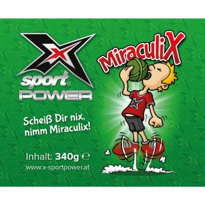 X-Sport Power - MiraculiX Pre-Workout Booster